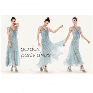 Cabi Garden Party Maxi Dress Size 8